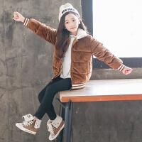 女童秋冬装外套洋气儿童上衣冬季大童潮童装