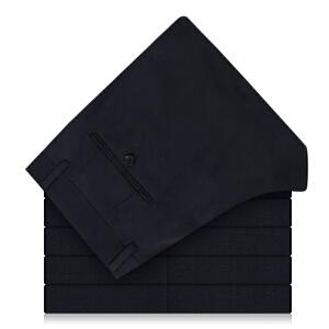 雅戈尔男士春秋季裤子新款藏青商务正装羊毛西裤TX29803FHA柜正品
