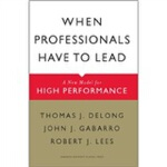 When Professionals Have to Lead(ISBN=9781422117378) 英文原版
