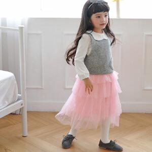 款公主蛋糕层半身裙童装童装公主风童裙