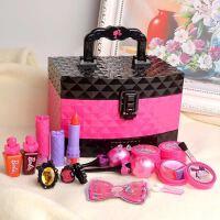 芭比儿童化妆品彩妆套装盒迪士尼公主圣诞小女孩化妆玩具生日礼品