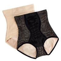 2018新款收腹内裤女蕾丝高腰提臀塑身裤紧身收复收胃塑形束腰产后收腹裤头
