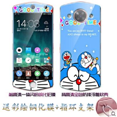 美图M8手机壳 美图M8保护套 美图m8手机壳套 保护壳套 手机保护套 外壳 后壳 浮雕彩绘TPU 个性创意卡通防摔