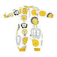 婴儿睡袋春秋冬季加厚纯棉冬天小孩宝宝幼儿童分腿防踢被四季通用