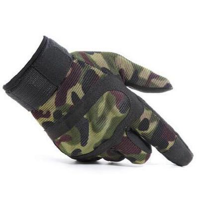 男士手套 战术手套 户外黑鹰全指手套 运动特种兵手套户外健身登山防滑骑行战术手套 品质保证 售后无忧  支持货到付款