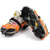 冬季男女简约休闲户外登山滑雪冰爪12齿简易防滑鞋套不锈钢鞋钉防滑链冰爪 可礼品卡支付