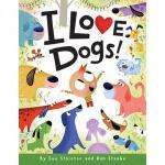 【预订】I Love Dogs!