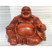 木木雕弥勒佛像摆件实木笑佛保平安客厅工艺品