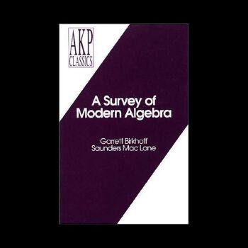 【预订】A Survey of Modern Algebra 9781568810683 美国库房发货,通常付款后3-5周到货!