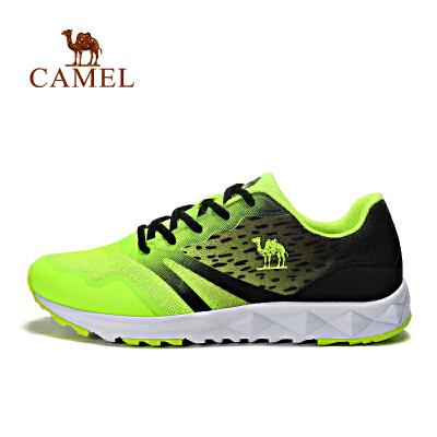 【领券满299减200】 camel骆驼运动跑鞋 男女减震轻便运动鞋 休闲透气跑步鞋书香节大促 仅限4.21