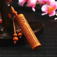 桃木挂件随身桃木剑龙头斧吊坠雕刻工艺品木雕 汽车钥匙扣