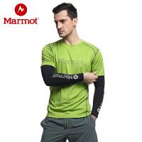 Marmot/土拨鼠2019新款春夏季情侣款运动袖套冰感护臂防晒套袖