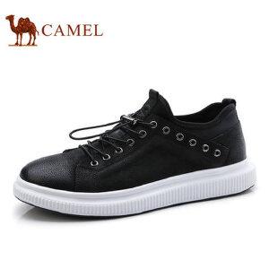 camel 骆驼男鞋时尚低帮休闲鞋男撞色滑板鞋休闲男鞋