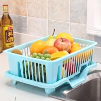 厨房沥水碗架塑料放碗筷架碗碟架收纳盒置物架碗柜落地角架沥水篮