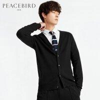 太平鸟男装 春季新款男外套开襟长袖针织衫毛衫毛衣B2EA71169