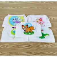 动漫宝贝 婴儿吸汗巾 卡通加大三层儿童隔汗巾 中号