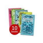 Boys Own Adventure Box Set 男孩冒险故事10册套装(含环游地球80天、人猿泰山、金银岛、绿斗篷、卢宫秘史、失落的世界、三十九级台阶、沙岸之谜、曾达的囚徒、星期四人) ISBN 9780140911947