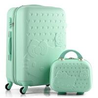 可爱儿童拉杆箱万向轮小学生子母行李箱女孩公主旅行箱皮箱寸 28寸 大容量