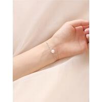 贝母珍珠手链日韩森系手环手镯气质首饰礼物女