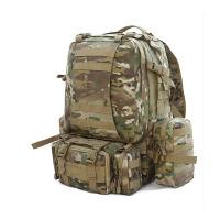 户外运动男女款军迷双肩登山包 野营大容量组合背包
