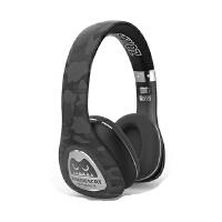 森麦音魔头戴式耳机蓝牙游戏耳机皮质耳罩电脑耳麦重低音 黑色
