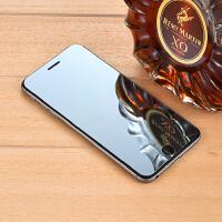苹果8X手机膜彩色镜面iphone7P全屏覆盖镜子钢化玻璃保护膜8plus