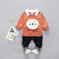 童装男宝宝秋装套装儿童衣服小男童秋季休闲两件套