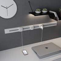 轨道插座壁挂式电力可移动式厨房明装无线多孔排插接线板用面板