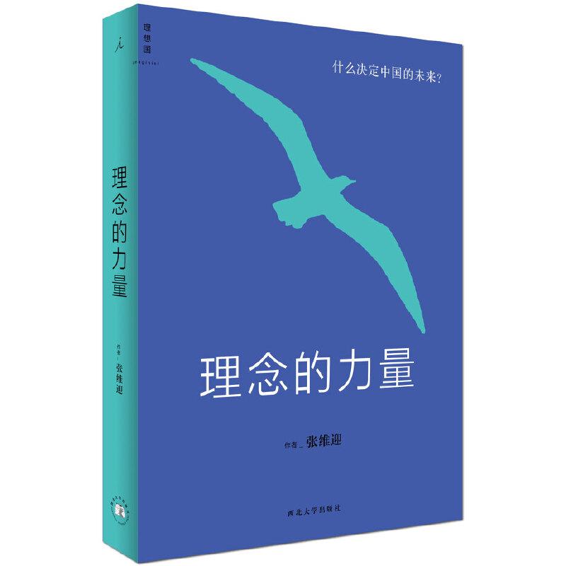 理念的力量:什么决定中国的未来 (理想国出品,张维迎详解决定中国未来的24个关键理念)