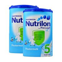荷兰Nutrilon牛栏奶粉5段(24-36个月宝宝) 800g二罐装