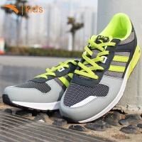 安踏童鞋 儿童正品气垫鞋减震时尚运动鞋中大童跑步鞋男童板鞋子31518807