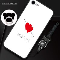 iphone6手机壳平果6送钢化膜pingg6s磨砂i6软iph0ne6卡通A1700外壳ipone