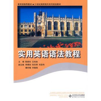 实用英语语法教程 陈素珍,王向旭 9787303104154