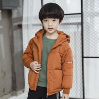 男童冬装棉衣外套小学生男孩棉袄短款