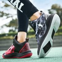 新品鸳鸯篮球鞋男女士春夏季低帮战靴运动鞋学生透气时尚潮流中学生中帮球鞋大码