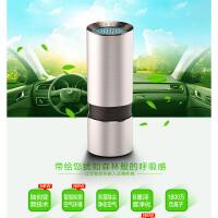 便携式杯装空气净化器 智能检测空气环境雾霾 升级版车载家用二合一