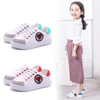 2017春秋新款儿童运动鞋韩版中大童百搭小白鞋男女童休闲板鞋