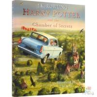 Harry Potter and the Chamber of Secrets 哈利波特与密室 全彩精装珍藏版 英版J.