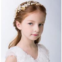 新款时尚儿童发卡头饰 儿童饰品女童珍珠发箍头箍发夹