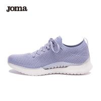 joma跑步鞋女鞋夏季网面透气轻便减震一体织休闲运动鞋女