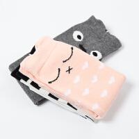 动物图案可爱童装冬季袜子男女四季通用