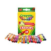 绘儿乐儿童美术绘画24色彩色蜡笔52-3024