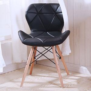 椅子 现代简约书桌椅家用书房餐厅靠背椅电脑椅凳子休闲椅实木北欧餐椅办公椅子 创意家具