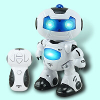 儿童自动演示机器人模型玩具 灯光音乐遥控跳舞机器人 玩具