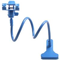 BaaN 手机懒人支架新款车载支架床头支架 适用于苹果iPhone/三星/小米/华为通用 【90cm】标准版 蓝色