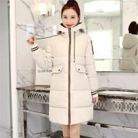 女中长款冬女装韩版学生宽松bf加厚棉袄外套
