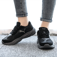 PUMA彪�R男鞋女鞋�\�有�新款黑色休�e老爹鞋跑步鞋372859-02