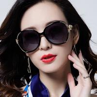 偏光太阳镜墨镜圆脸明星款潮眼镜眼睛长脸女
