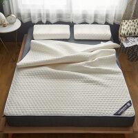 天然乳胶床垫保护垫1cm床褥垫席梦思床护垫折叠软垫床垫薄款 垫子 白色 乳胶床垫