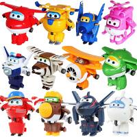 奥迪双钻超级飞侠玩具迷你变形机器人全套装小飞侠玩具 淘淘 金刚 酷雷 米莉 乐迪 多多 酷飞 小爱 包警长 卡文 胡须爷爷 小青儿童玩具